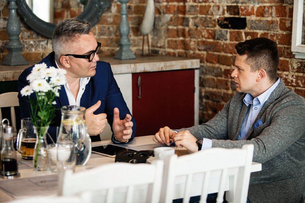 Jarosław Maringe w rozmowie z Piotrem Mieśnikiem