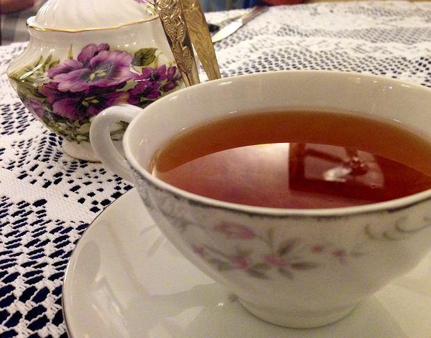 Filiżanka herbaty.