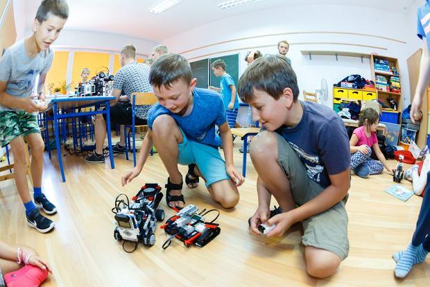 Zapraszamy dzieci w wieku 7-13 lat na kolonie letnie z robotyką!