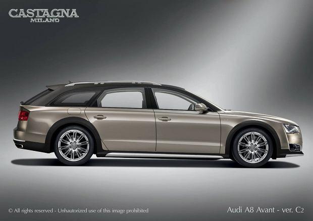 Nietypowy projekt od Castagna Milano - Audi A8 W12 Avant