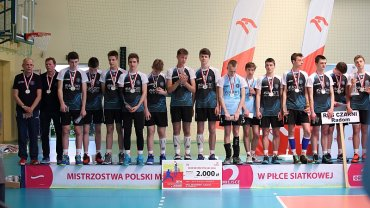 RCS Czarni Radom - młodzicy. Srebrni medaliści mistrzostw Polski 2016