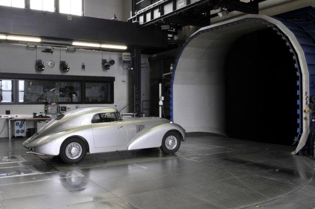 Zrekonstruowany Mercedes-Benz 540 K Streamliner (W29)