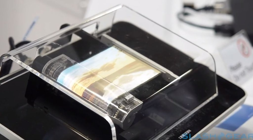 Najnowszy zwijany ekran Samsunga