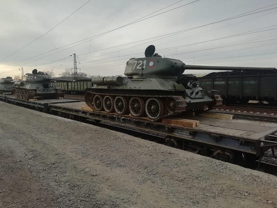 T-34 z Laosu, które wróciły do Federacji Rosyjskiej