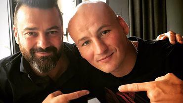 Martin Lewandowski i Artur Szpilka