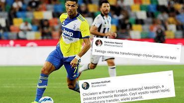Internet w szoku po transferze Ronaldo. 'Co za szalony rok. Surrealistyczny w wielu kwestiach'
