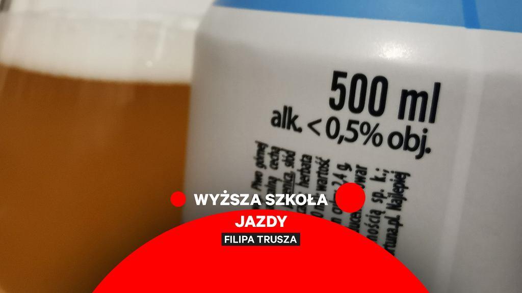 Piwo bezalkoholowe do 0,5 proc.
