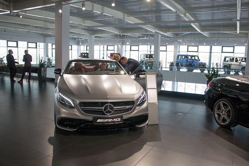 Mercedes | Otwarto największy salon w Polsce