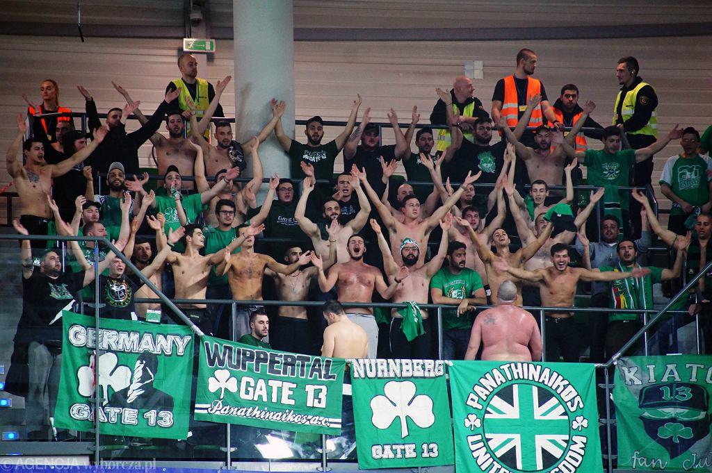 Mecz Stelmetu BC z Panathinaikosem Ateny