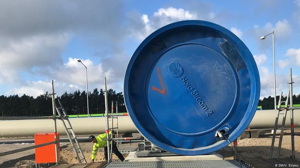 Budowa Nord Stream 2/Fot. DW/V. Episov