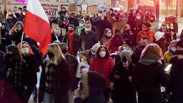 Strajk Kobiet w Olsztynie, 9 listopada 2020