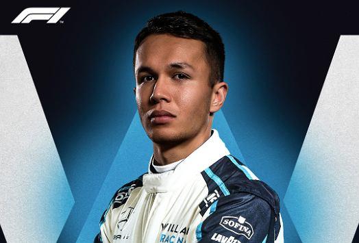 Alex Albon nowy kierowca Williams Racing w Formule 1. Źródło: Twitter