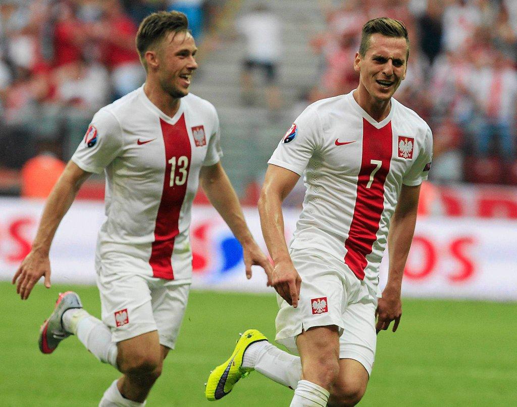 Polska - Gruzja 4:0. Maciej Rybus i Arkadiusz Milik