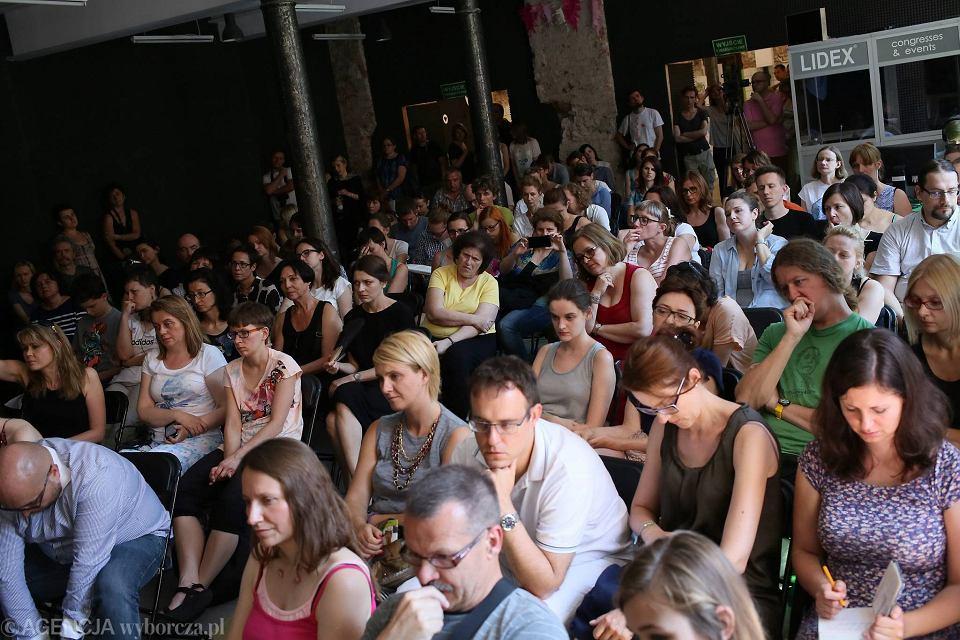 Zdjęcie numer 4 w galerii - Tłumy na Big Book Festival 2015. Zadie Smith, Sophie Hannah, Wassmo, Grzebałkowska...