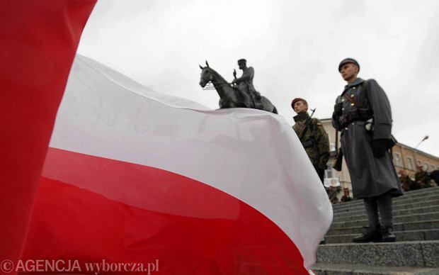 Obchody Święta Niepodległości - 11 listopada. Fot. Pawel Malecki / Agencja Gazeta  SLOWA KLUCZOWE: swieto niepodleglosci swieto narodowe obchody