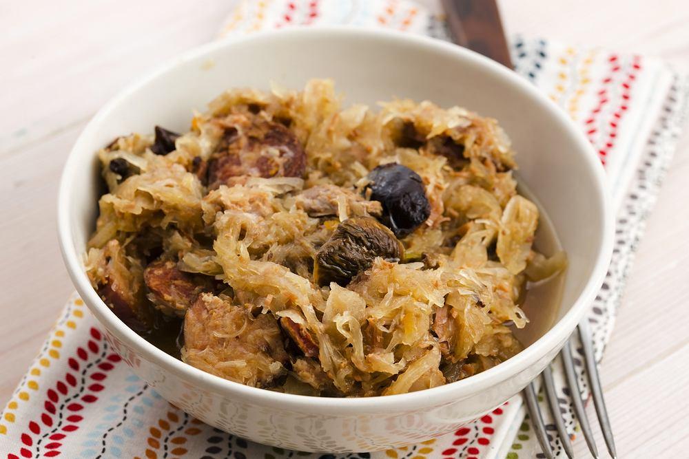 Bigos najlepiej smakuje po około 2-3 dniach duszenia