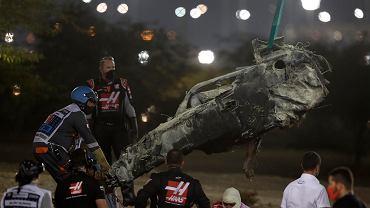 Niewiarygodne! Tyle zostało z bolidu F1 po wypadku! Jak kierowca mógł to przeżyć?!