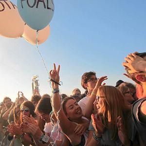 "04.07.2014 Gdynia, Open'er Festival, ""Foals"""