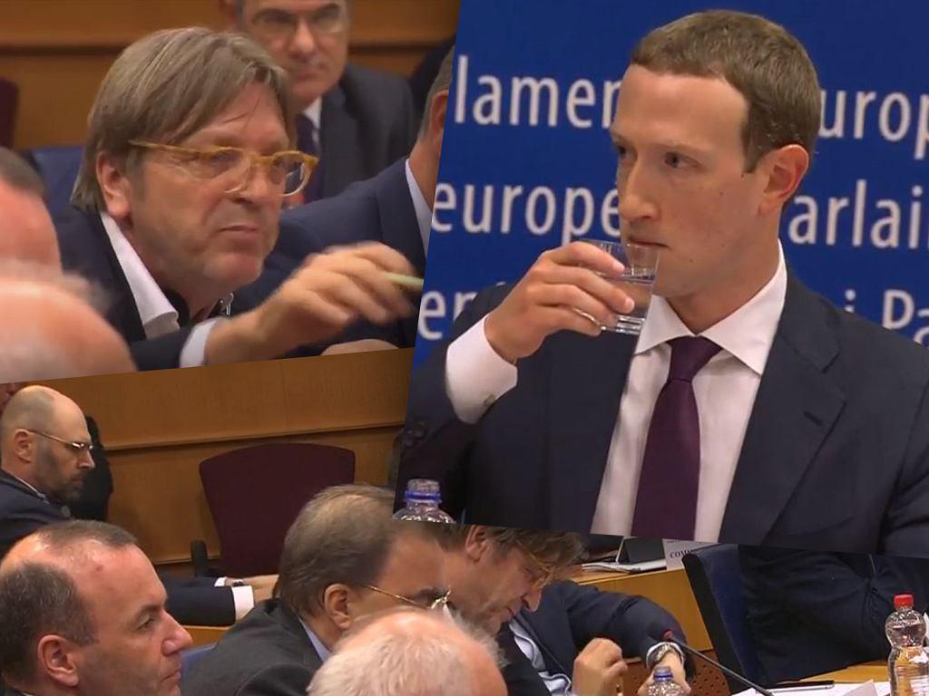 Mark Zuckerberg bronił Facebooka w Europarlamencie