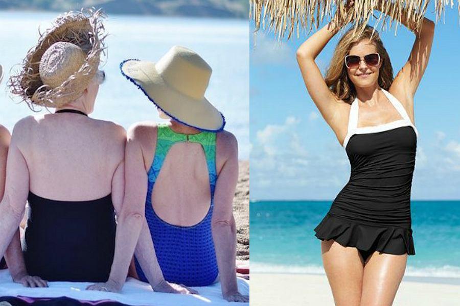 5765f5b78464bf Kostiumy kąpielowe dla dojrzałych kobiet - w tych modelach będziesz ...