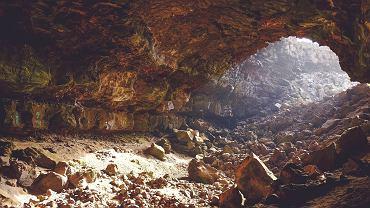 Nowa jaskinia koło Kielc