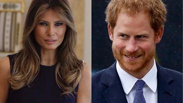 Melania Trump, książę Harry