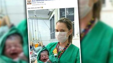 Wiele mam przyznało się do podobnych zdjęć z porodówki.
