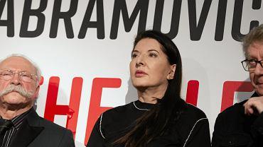 Marina Abramović - wystawa w Toruniu. Artystka podczas wernisażu w CSW, 8 marca 2019