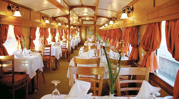 podróże, afryka, Podróż pociągiem po Afryce, Wagon restauracyjny