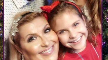 Katarzyna Skrzynecka z córką