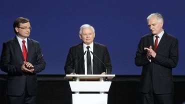 Zbigniew Ziobro, Jarosław Kaczyński i Jarosław Gowin