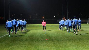 Trening Lecha Poznań przed meczem z FC Basel w Lidze Europejskiej.