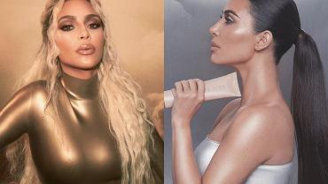 Na Instagramie Kim Kardashian kreuje się na bóstwo, a jak wygląda na co dzień? Paparazzi przyłapali ją bez makijażu. Różnica jest ogromna