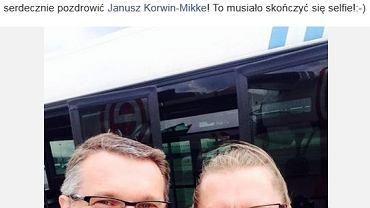 """""""Selfie"""" Przemysława Wiplera z Leszkiem Możdżerem"""