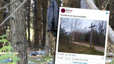 Mieszkańcy Podlasia zostawiają migrantom pakunki