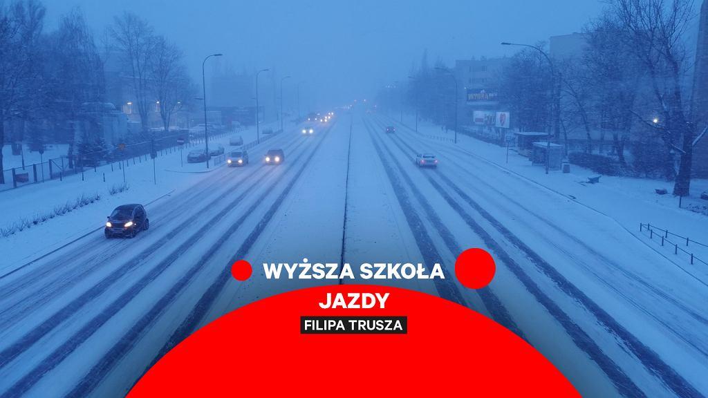 Zima na drodze