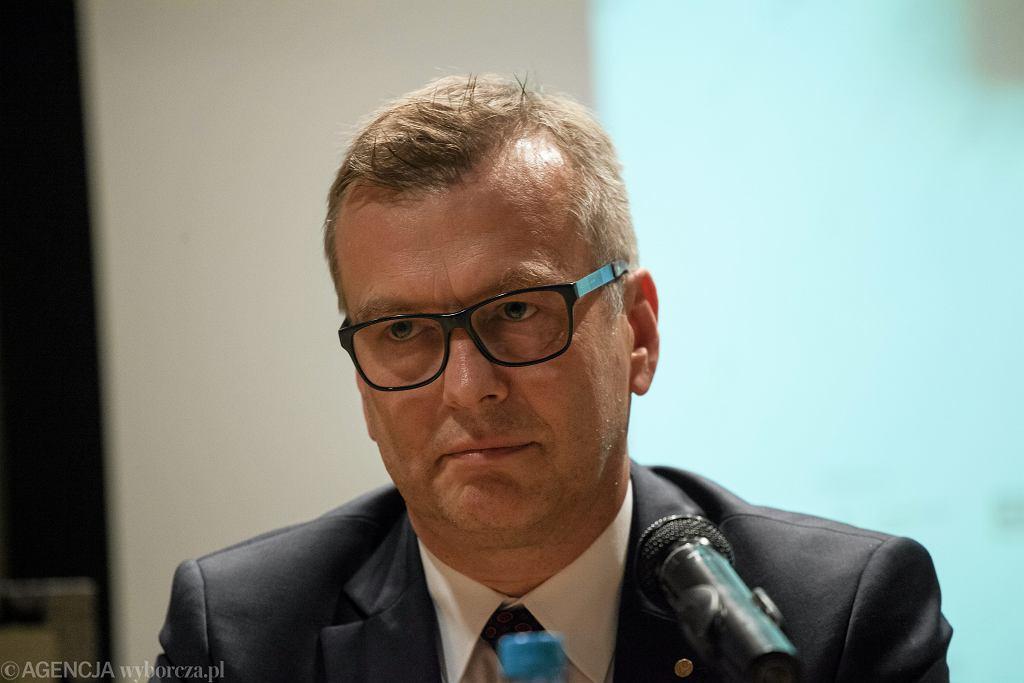 Prof. Mirosław Wielgoś. Były rektor WUM