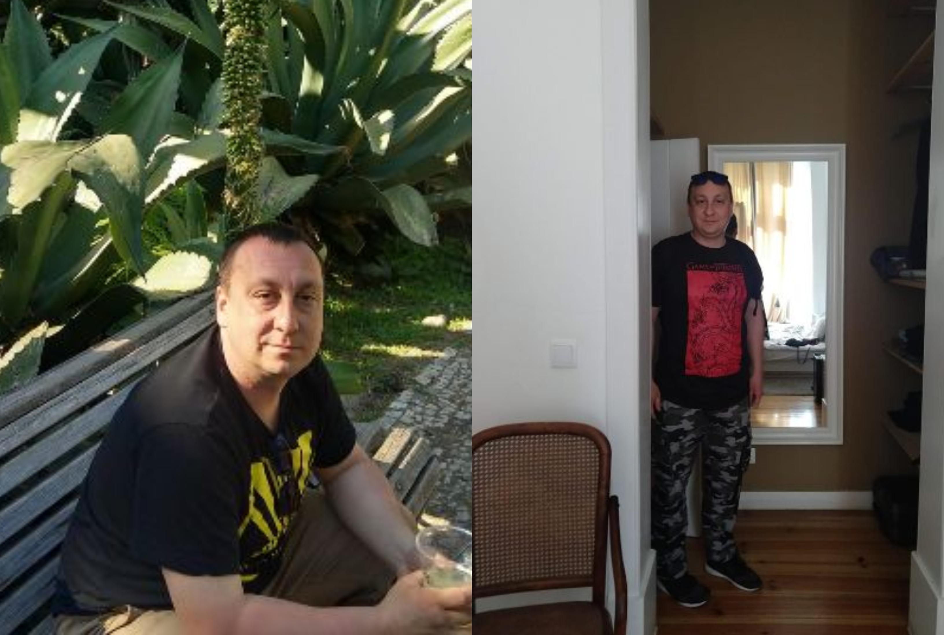 Roman Jagodziński zaczynał w szpitalu, jako sanitariusz na ortopedii (fot. Archiwum prywatne)