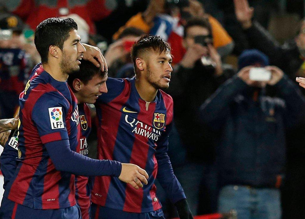 Luis Suarez, Lionel Messi i Neymar