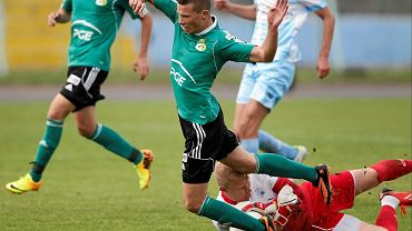 Piotr Skiba, bramkarz Stomilu Olsztyn