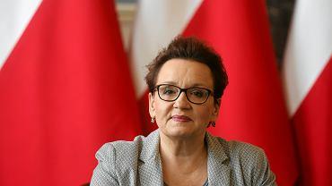 Minister edukacji Anna Zalewska podczas konferencji 'Dobra Szkoła'