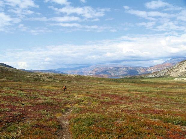 Grenlandia, szlak ACT