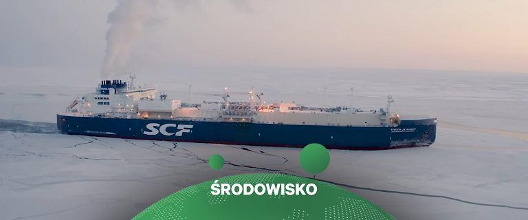 Komercyjny statek po raz pierwszy pokonał arktyczną trasę zimą