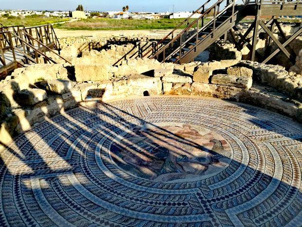 Cypr: wspaniałe mozaiki w Pafos