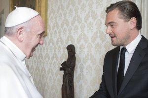Leonardo DiCaprio i Papież Franciszek