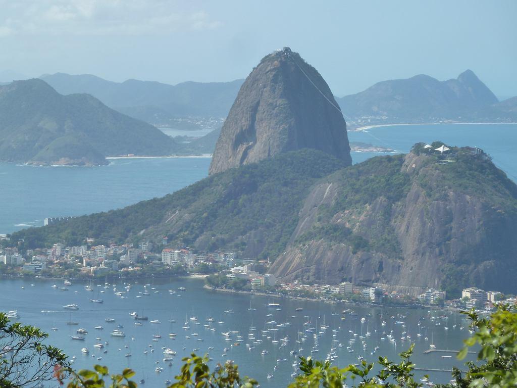 Widok na wzgórze Pao de Acucar, Rio de Janeiro