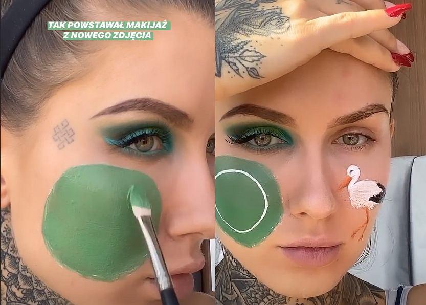 Deynn zrobiła makijaż inspirowany pożarem Biebrzy