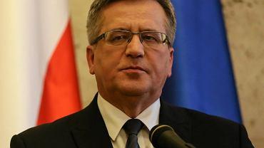 Wybory prezydenckie 2015. Bronisław Komorowski,tak jak zapowiadał, nie wziął udziału w debacie kandydatów na prezydenta