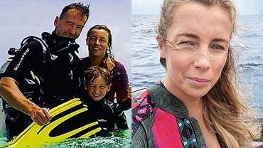 Piotr Kraśko z rodziną pojechał na egzotyczne wakacje. Rajskie plaże, lazurowa woda, a dzieci się uczą nurkować