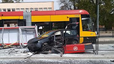 Wypadek przy ul. Grochowskiej